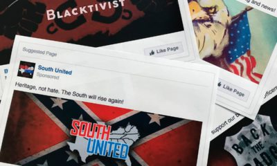 Photo of Facebook ads linked to a Russian effort to disrupt the American political process