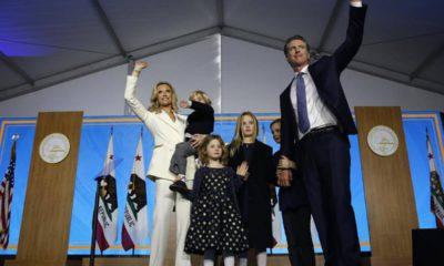 Photo of Gavin Newsom and his family