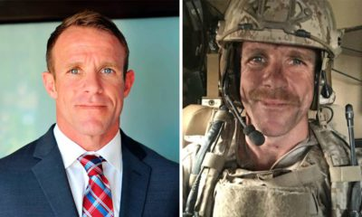 Photo combination of Navy SEAL Edward Gallagher
