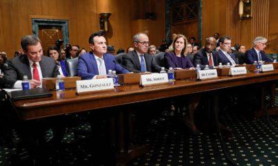 Photo of CEOs of major drug companies