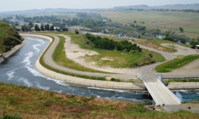 Photo of the Friant-Kern Canal in the San Joaquin Valley