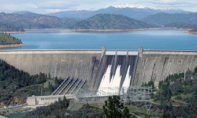 A photo of Shasta Dam in northern California