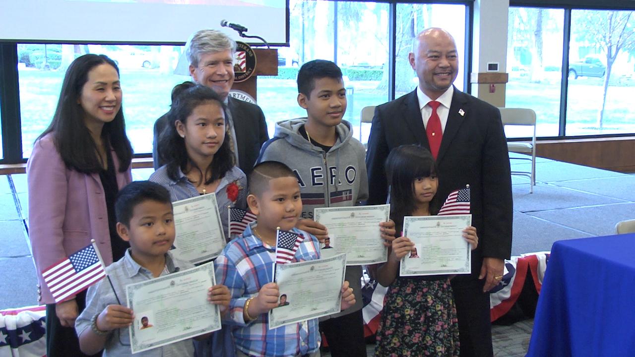 Photo from Clovis citizenship ceremony