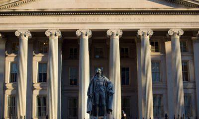 Photo of US Treasury Department