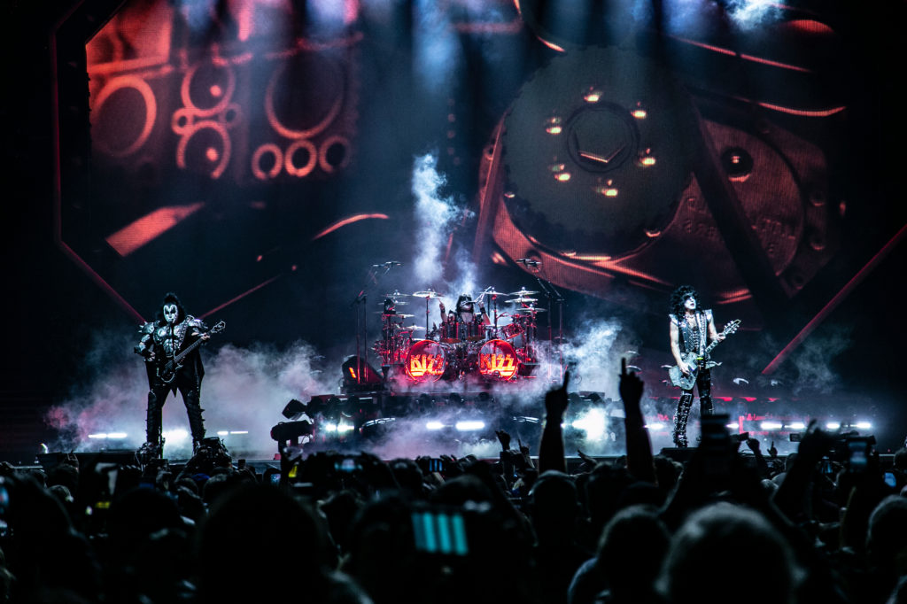 KISS perform at the Save Mart Center in Fresno on Feb. 8, 2019 (GV Wire Photo/Jamie Ouverson)
