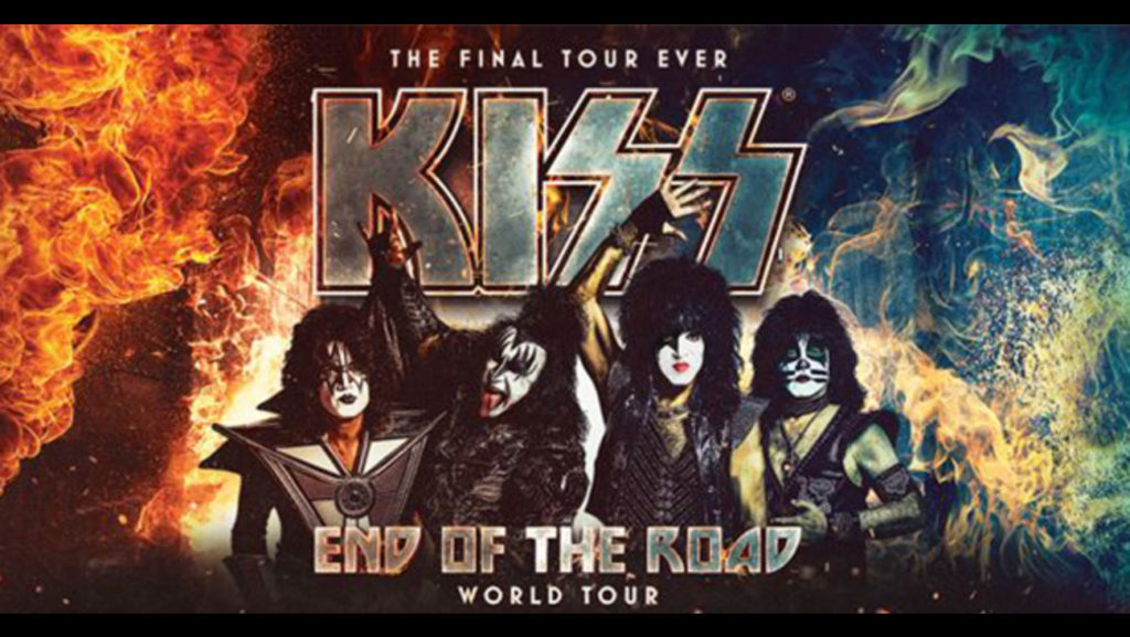 KISS End of the World Tour Poster