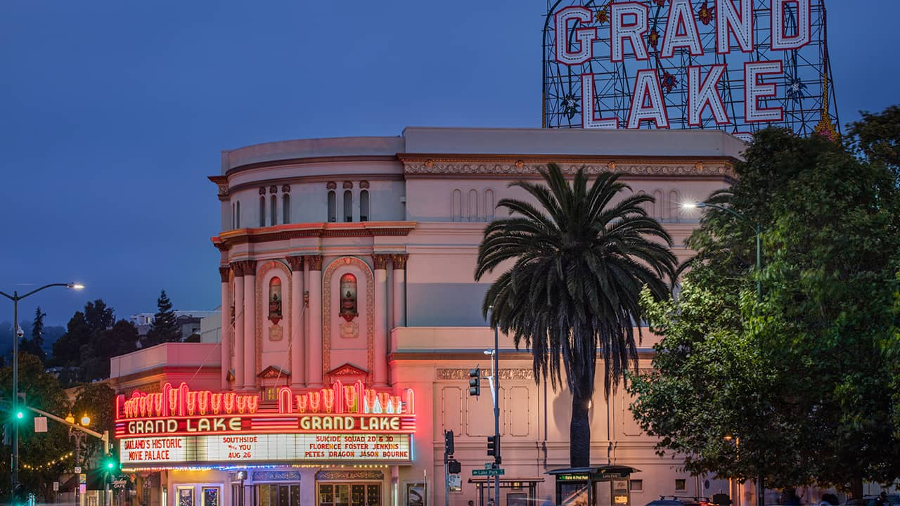 Photo of The Grand Lake Theatre in Oakland