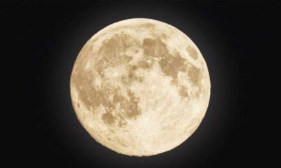 Photo of a super moon