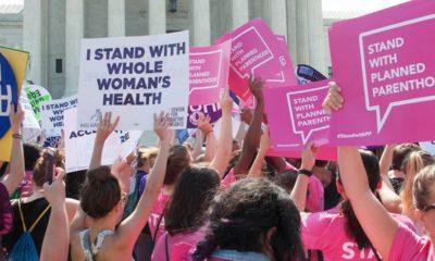 Photo of abortion protestors