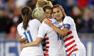 Photo of US women's national soccer team