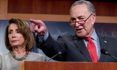Photo of Nancy Pelosi and Chuck Schumer