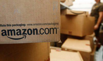 Photo of Amazon box