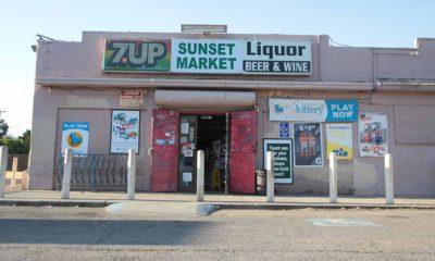 Photo of a Fresno liquor store