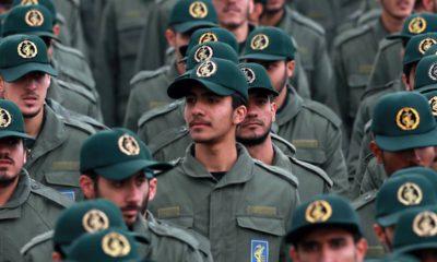 Photo of Iranian Revolutionary Guard members