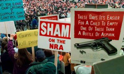 Photo of NRA protestors