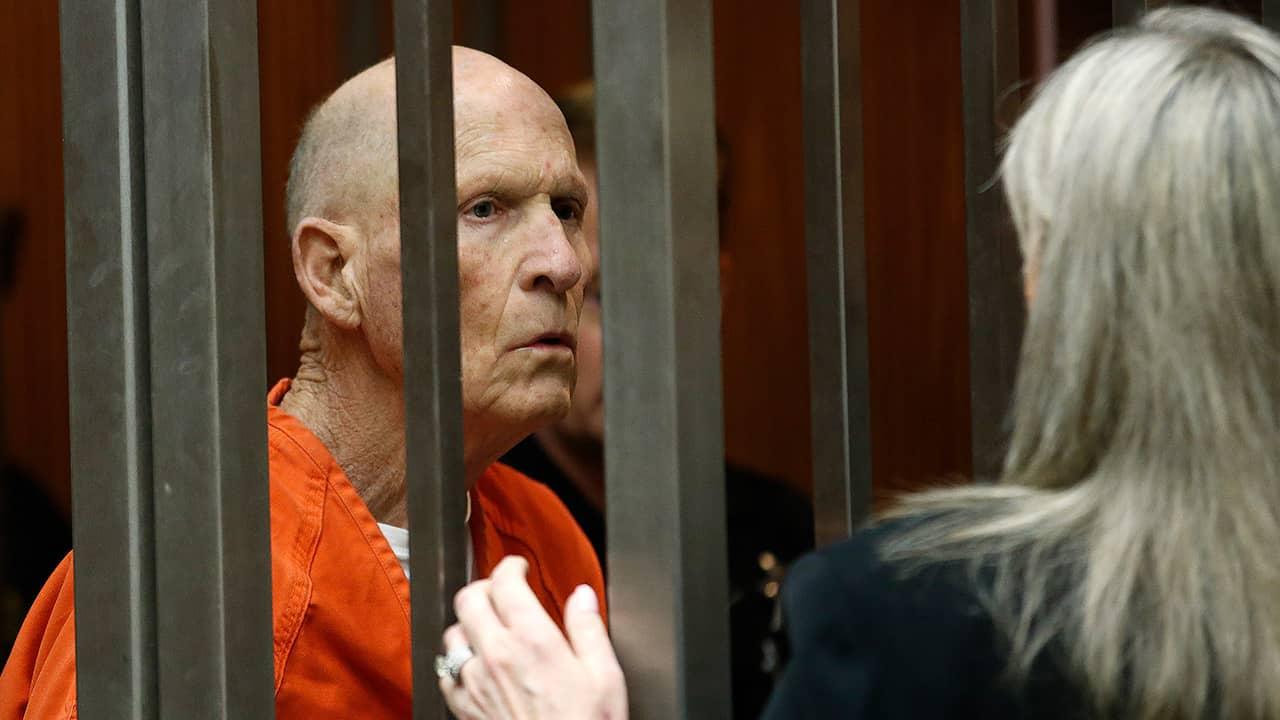 """Photo of Joseph James DeAngelo, the """"Golden State Killer"""""""