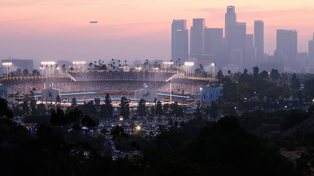 Photo of Dodger Stadium in Los Angeles, CA