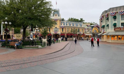 Empty Disneyland