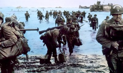 Photo of D-Day soldiers