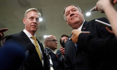 Photo of Mike Pompeo and Patrick Shanahan