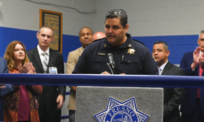 Photo of Fresno police Capt. Mark Salazar