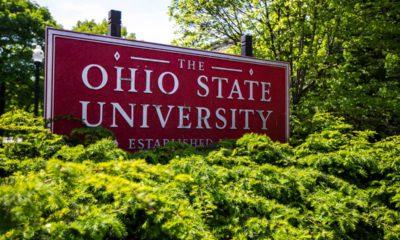 Photo of Ohio State University sign