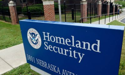Photo of Homeland Security sign
