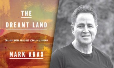 Composite of The Dreamt Land and author Mark Arax