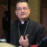 Photo of Bishop Joseph V. Brennan, leader of the Fresno Diocese