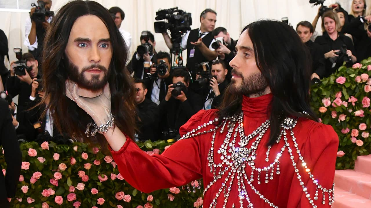 Photo of Jared Leto at the 2019 Met Gala