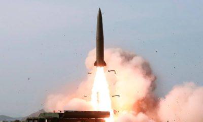 Photo of North Korea weapon test