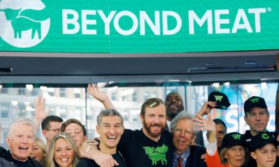 Photo of Beyond Meat Opening Bell ceremony