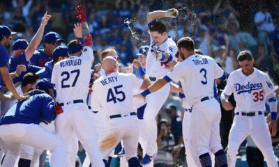 Photo of Los Angeles Dodgers celebrating