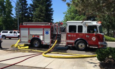 Photo of a Fresno fire truck