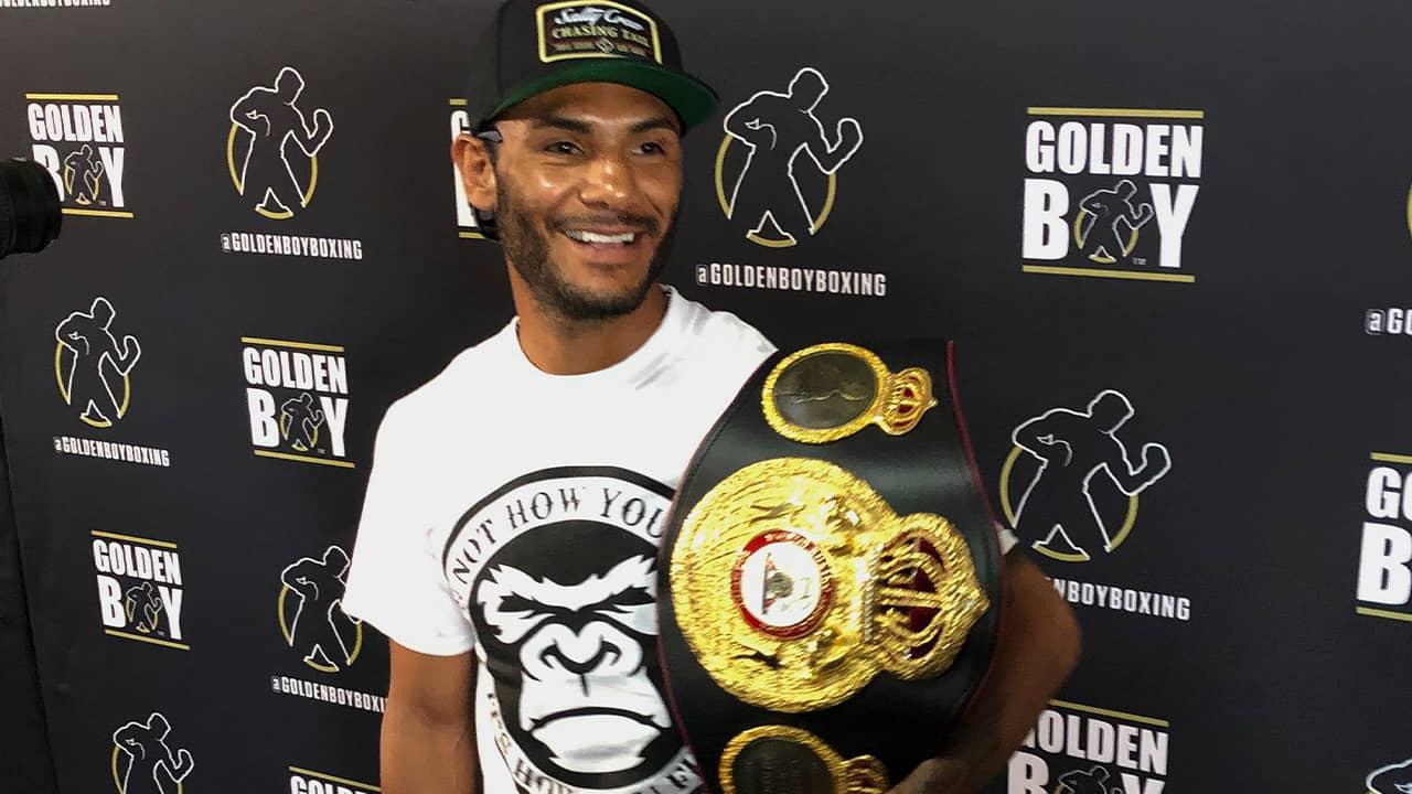 Photo of boxer Andrew Cancio