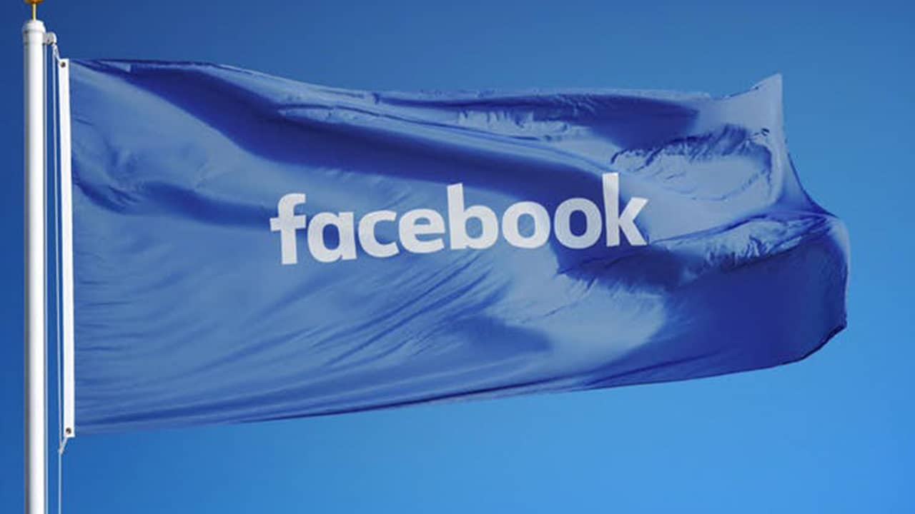 Photo of Facebook flag