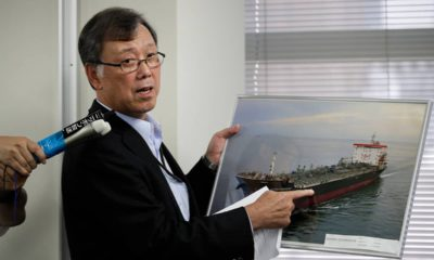 Photo of Yutaka Katada, president of Kokuka Sangyo Co.