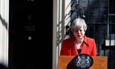 Photo of British Prime Minister Theresa May