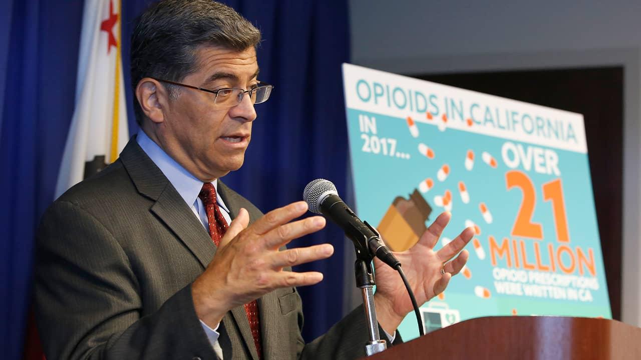 Photo of Attorney General Xavier Becerra