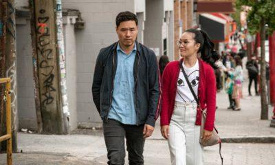 Photo of Randall Park and Ali Wong