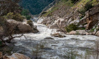 Photo of Kern River in March 2017