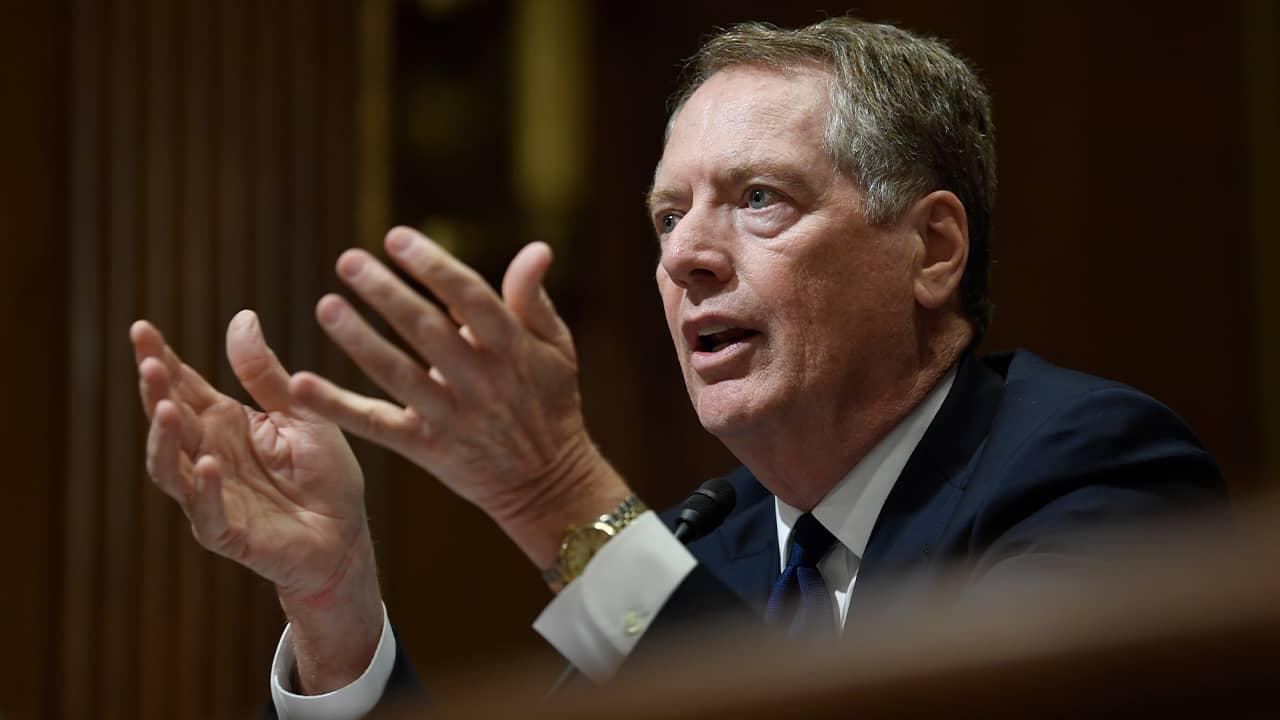 Photo of U.S. Trade Representative Robert Lighthizer