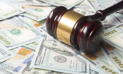 Photo of money and a gavel