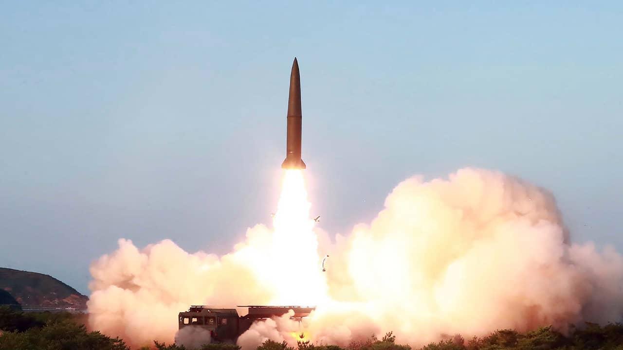 Photo of North Korean missile