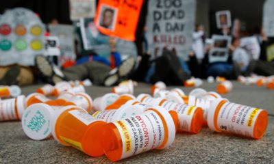 Photo of OxyContin pill bottles