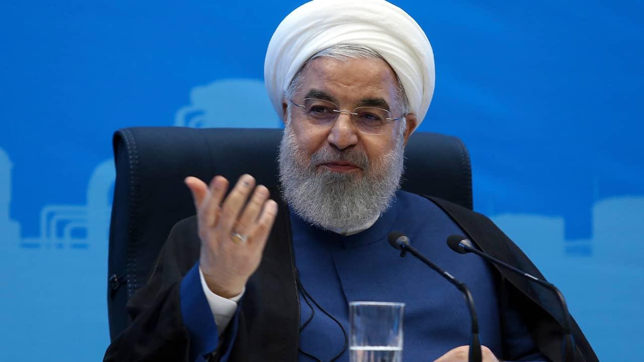 Photo fo President Hassan Rouhani
