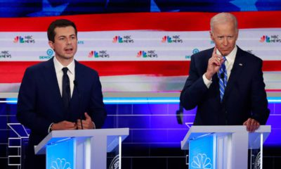 Photo of Joe Biden and Pete Buttigieg