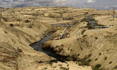 Photo of Kern County oil spill