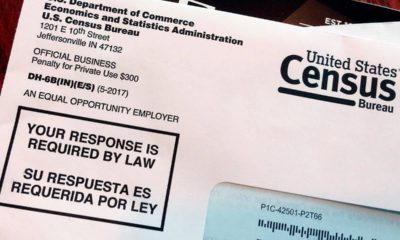 Photo of 2018 Census letter mailed to a U.S. resident