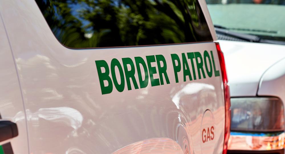 Border Patrol vehicle